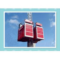 Building Elevator Construction Hoist Safety , Man And Material Hoist Manufactures