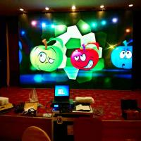 P5 Indoor High Refresh Rate High Pixels Resolution Indoor Full Color LED Video Display Walls Manufactures