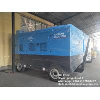 Diesel Engine Direct Driven Mobile Double Stage Portable Screw Air Compressor Manufactures