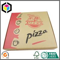 Quality Folding Corrugated Paper Cardboard Food Grade Pizza Packaging Box for sale