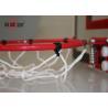 Unbreakable Adjustable Basketball Hoop , Breakaway Rim Office Basketball Hoop Manufactures