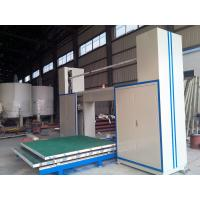 Horizontal CNC Foam Cutter Machine With Oscillating Blade For Special Shape Foam Manufactures