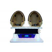 Popular 9D VR Cinema 2 Seats Blue / White Color For Business Investment