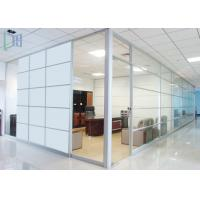 Decorative Glass Panel / Clear Aluminium Office Partition 1.2 - 2.0mm Thickness Manufactures