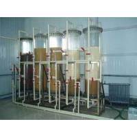 Food Grade Industrial Steam Deaerator , Ion Exchange Industrial Water Treatment Plant Manufactures