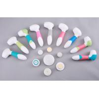 IPX-7 Multifunction Electric Skin Cleansing Brush with Pumice / Sponge Brush 4 In 1 Manufactures