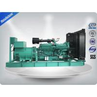 High Power 1200 KW / 1500 KVA Open Diesel Generator Cummins Engine with Stamford Alternator Manufactures