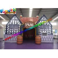China Digital Painting Inflatable Pub Tent , Inflatable Marquee For Party on sale
