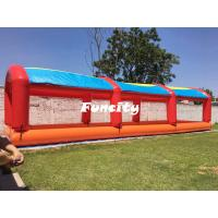 Kids Outdoor Colorful Mini Inflatable Water Pools With Tent Cover 15 L * 4 W Manufactures