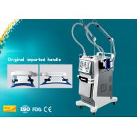 Buy cheap White Tender Skin Portable Cryolipolysis Machine , Vertical Fat Slimming Machine from wholesalers