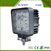 """Hot-Sell and Square 4"""" 27W LED Work Light for Forklift, Bulldozer and Truck Manufactures"""