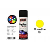Fluo Yellow Color Spray Paint Remover 12pcs / Ctn For Car Coating Manufactures