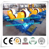80T PU Welding Rotator For Pipe Engineering , Welding Turning Rolls With PU Wheel Manufactures