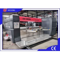 Buy cheap Vacuum Transfer 2 Color Priner Slotter Machine For Corrugated Carton from wholesalers