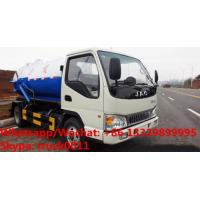 Quality Factory customized high quality and lower price JAC 4*2 LHD 5m3 vacuum tank for sale