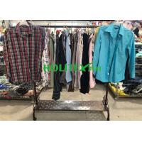 Comfortable Mens Used Clothing Japanese Style Second Hand Mens Long Sleeve Shirts Manufactures
