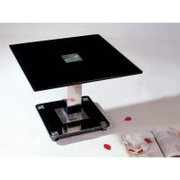 China square black glass coffee table xyct-003 on sale