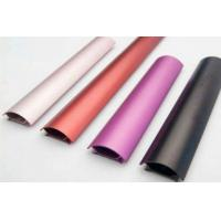 Quality Colored Anodizing  6061 Aluminum Profile ,  Customized Shape , With Finished Machining for sale