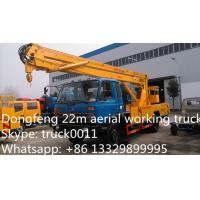 Quality hot sale dongfeng 153 190hp 18m-22m aerial working platform truck, dongfeng RHD for sale