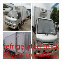 high quality and competitive price 1tons forland refrigerator minivan for sale, forland RHD 1tons mini freezer van truck Manufactures