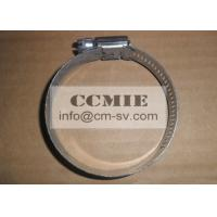 Bulldozer Stainless Steel Hose Clamp Spare Parts , CE / ISO Metal Pipe Clamp Manufactures