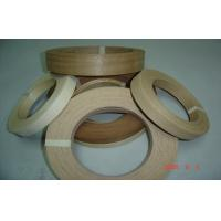 Natural Edge Banding Veneer Enviromental Glue , 0.5 mm Thickness Manufactures