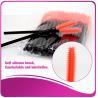 Multi -Top Silicone Mascara Applicator Brushes , Fashionable Eyelash Extension Brush Manufactures