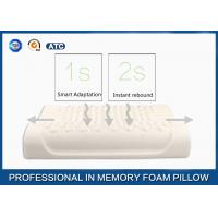 Breathable Massage Latex Foam Rubber Pillow Sound Sleep Improving and Anti - Snoring Manufactures