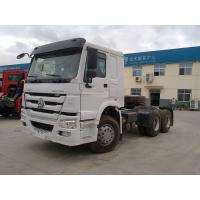 Durable Howo Tractor Head Truck , 40 Tons 10 Wheel 371hp Prime Mover Truck Manufactures
