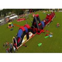 Outdoor Inflatable Obstacle Course , Full Challenge Adult Outdoor Obstacle Course , Obstacle Course Ideas Manufactures