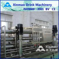 China 380V Mineral Water Treatment Equipments Purification Line With RO Membrane on sale