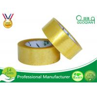 Quality Clear Shipping Storage Box BOPP Sealing Tape Single Sided ISO SGS for sale