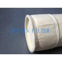 Steel plant casting house dust filter bag DN125x2500 polyester needle punched material Manufactures