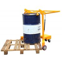 180mm rotating Mechanical Forklift Drum Lifter With Hoop Structure Manufactures