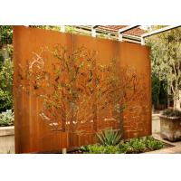 Customized Corten Steel Metal Tree Wall Art Sculpture For Garden Decoration Manufactures
