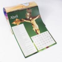 Quality 2012 charity  december Poster Customized Calendar Printing Service with YO Binding for sale