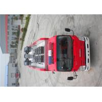 139kw 4x2 Drive ISUZU Chassis Light Fire Truck With LED Light Source