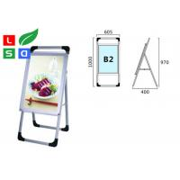 Single Sided Trade Show Displays LED Poster Display Aluminum Structure For Free Standing Manufactures