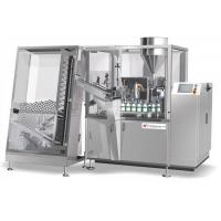 Chemical / Paste / Cream Automatic Tube Filling And Sealing Machine 0.5 - 0.65 Mpa Manufactures