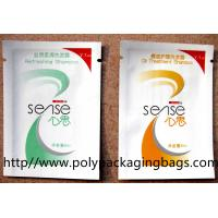 Quality Customized Printed Shampoo Bags Cooling Gel Foil Packaging Bags for sale