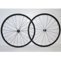 China T700 Tubular Carbon Fiber Bike Wheels High Speed Stability For Long Distance Riding on sale