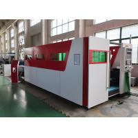China 1kw CNC Fiber Laser Cutting Machine / Stainless Steel Metal Laser Cutting Equipment on sale