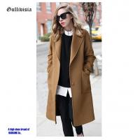 Fashion Winter lady coat high quality smooth fabric winter warmer keep coats Manufactures