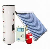 Split solar water heating system with EN 12975 standard Manufactures