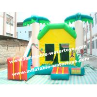 Durable Indoor 0.55mm PVC Tarpaulin Inflatable Combo Bouncers House Manufactures