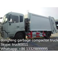 Dongfeng 4X2 LHD10tons Compress Garbage truck for sale, hot sale best price dongfeng 210hp/180hp garbage compacted truck Manufactures
