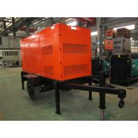 Automatic 100 KVA Mobile Diesel Generator Silent Type For Emergency And Standby Manufactures