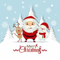 Art Paper Cardstock Charity Christmas Cards With CMYK Printing Color Manufactures