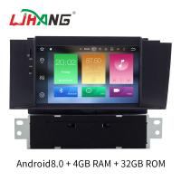 Double Din Android 8.0 Citroen Car Stereo Player AM FM Radio For Citroen C4L Manufactures