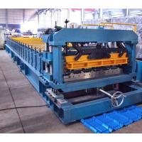 7.5 Kw Gimbal Gearbox Drive Roof Rolling Forming Machine PLC Frequency Control System Manufactures